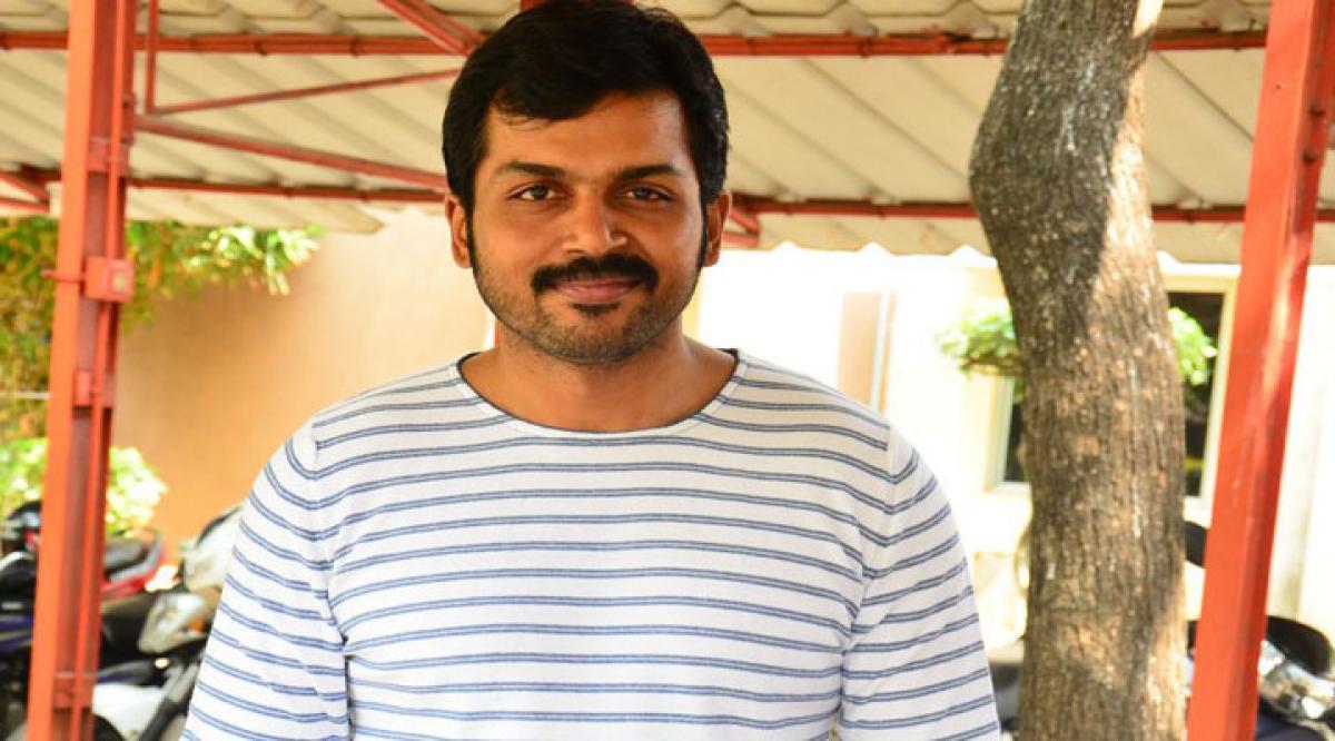 Karthi to play a pilot in Mani Ratnam