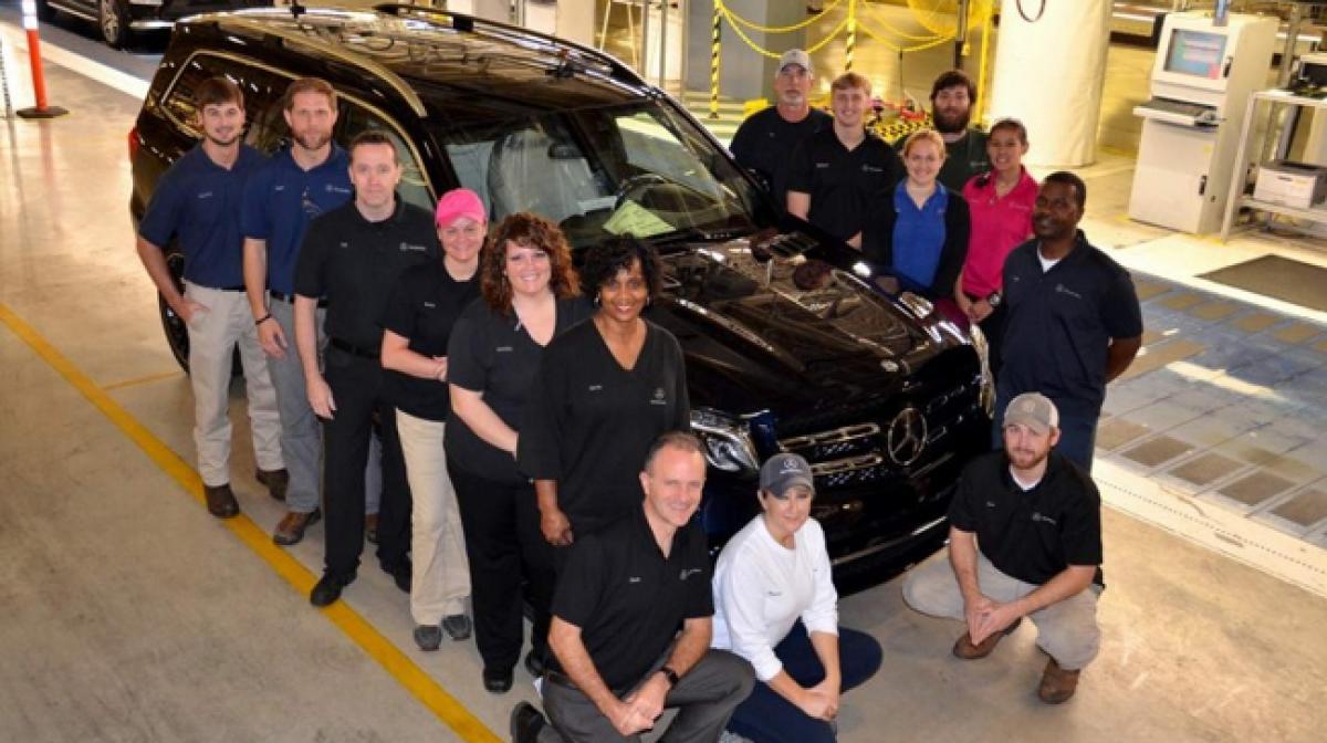 Mercedes Benz GLS production begins at US plant Tuscaloosa