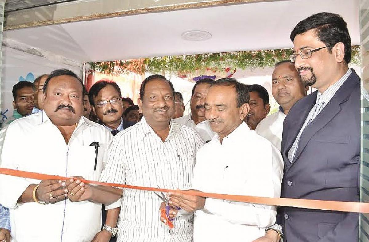Max Cure hospital opened