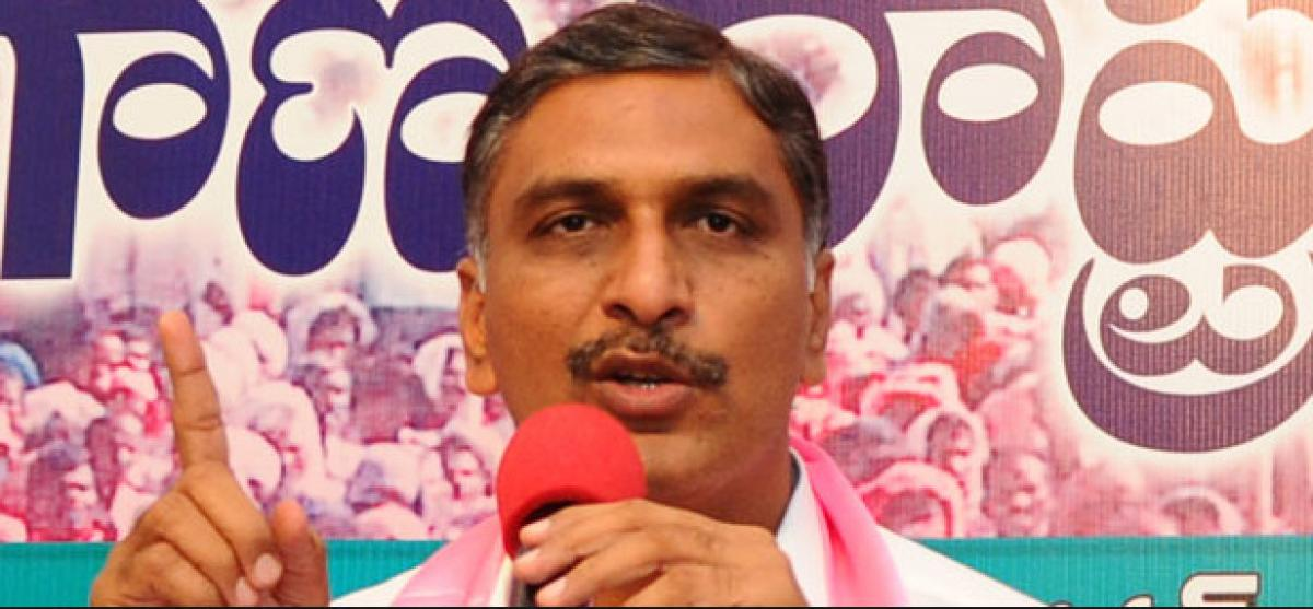 Telangana YSRCP leaders demand Harish Rao to resign