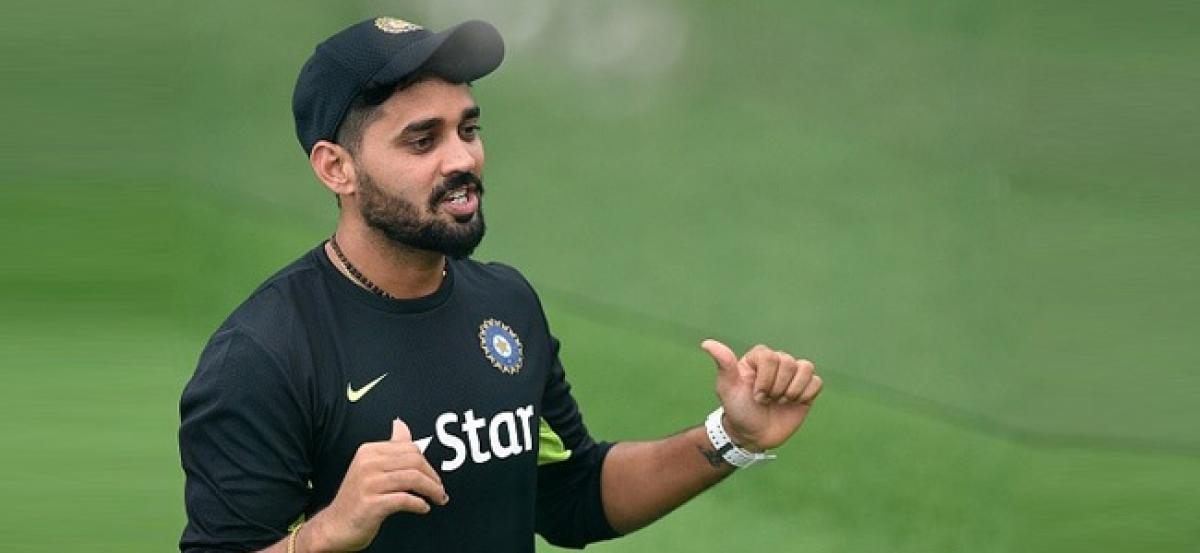Vijay confident of being fit in time for Sri Lanka series By C Shyam Sundar
