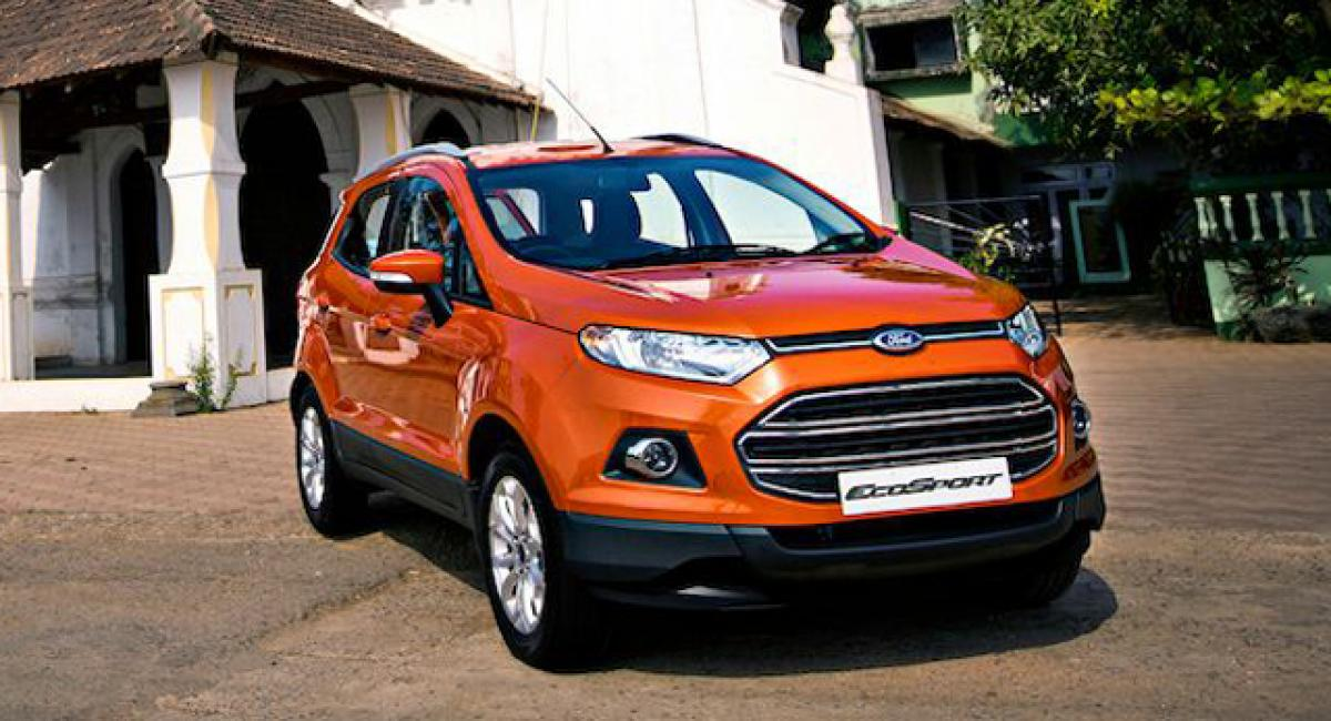 """Ford conducting """"EcoSport 2,00,000 fest"""" this weekend"""