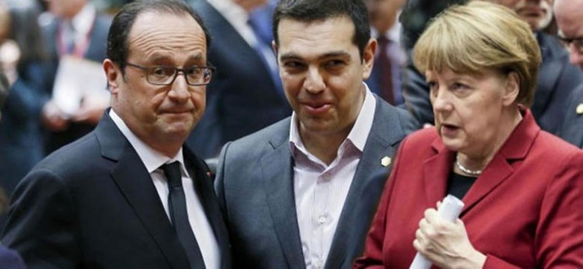 Merkel, Hollande ready to talk with Greece