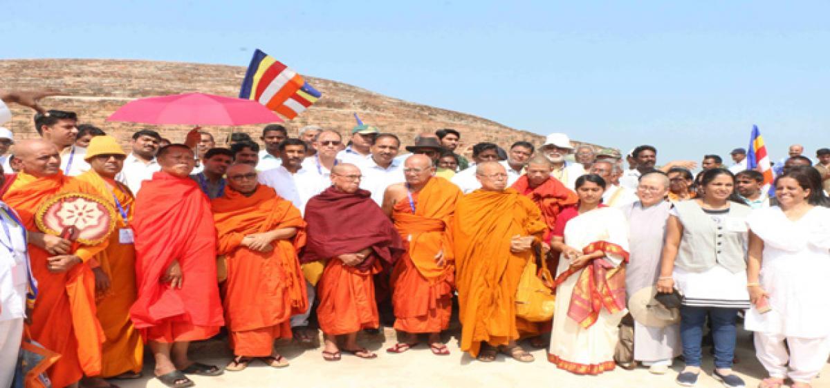 Buddhist Maha Stupa set to entice tourists