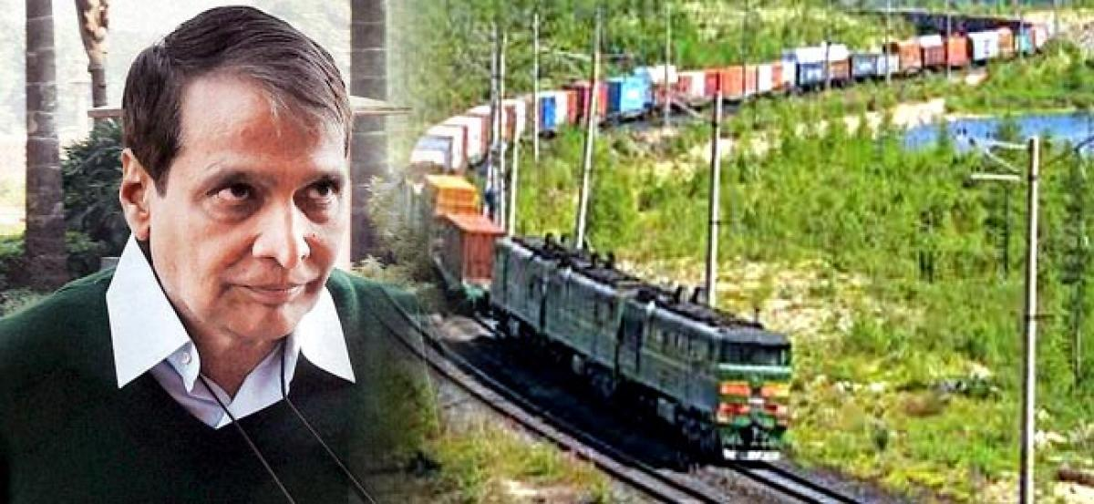 Time Tabled Freight Container-Parcel Train to be Started this Year