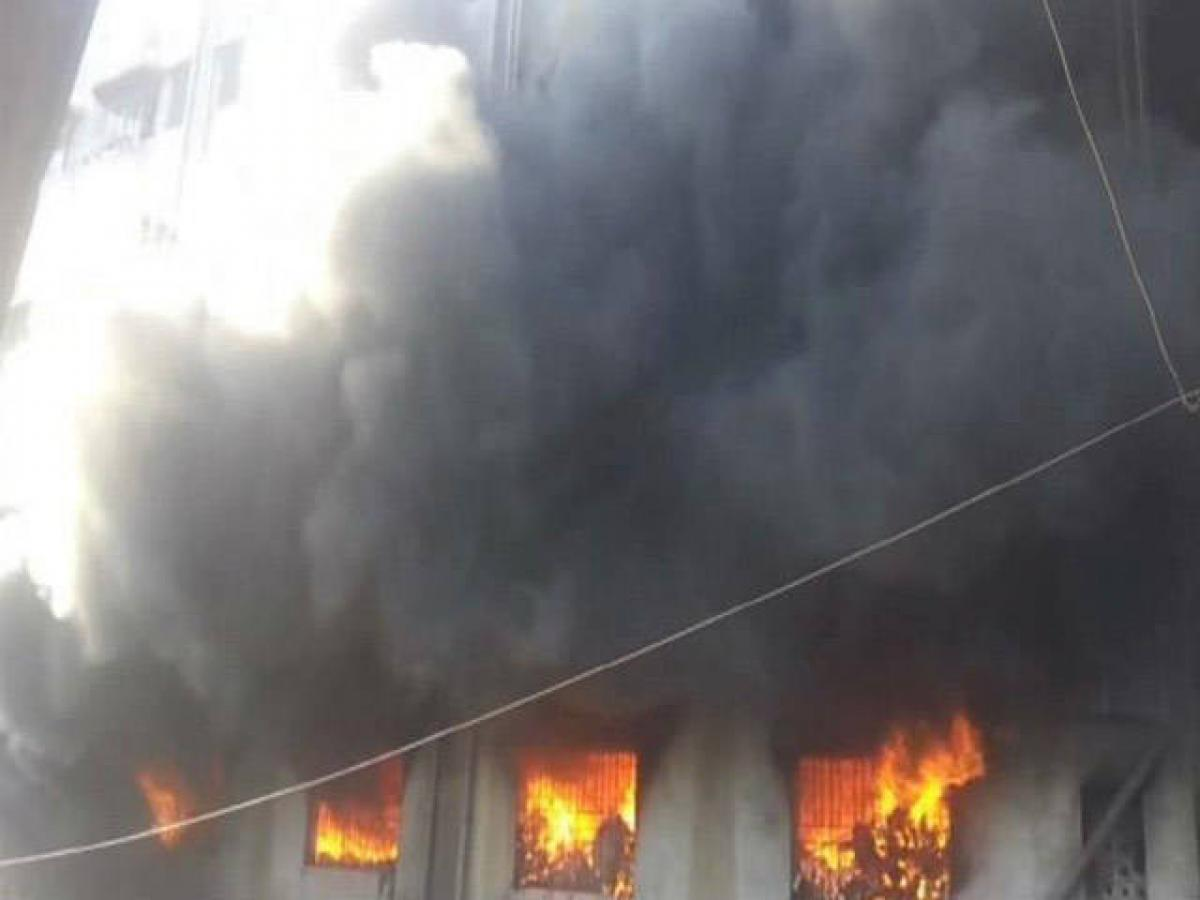 Massive fire breaks out in Bhiwandi, four charred to death