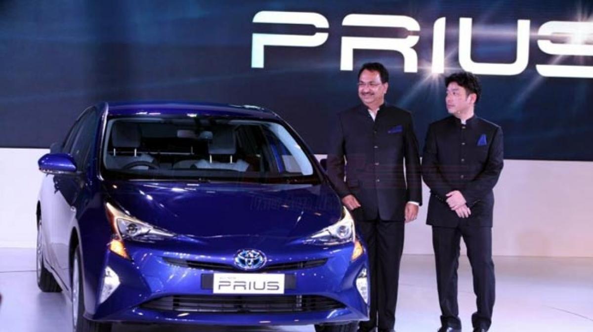 New gen Toyota Prius makes India debut: 2016 Auto Expo
