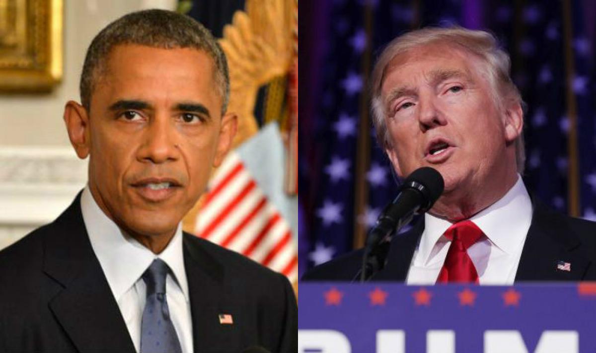 Obama backs protests on Trumps immigration ban