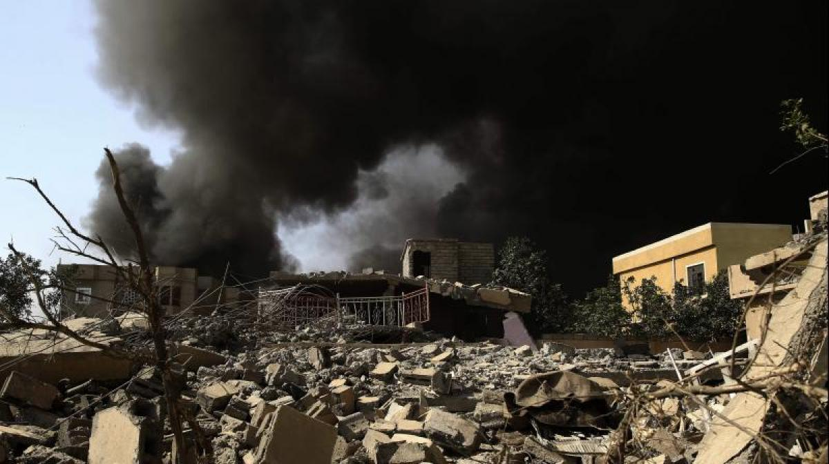 7 civilians killed as US warplanes strike Syrian town again