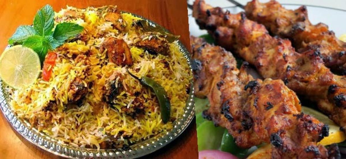 Gorge on 50 biryani varieties and kebabs