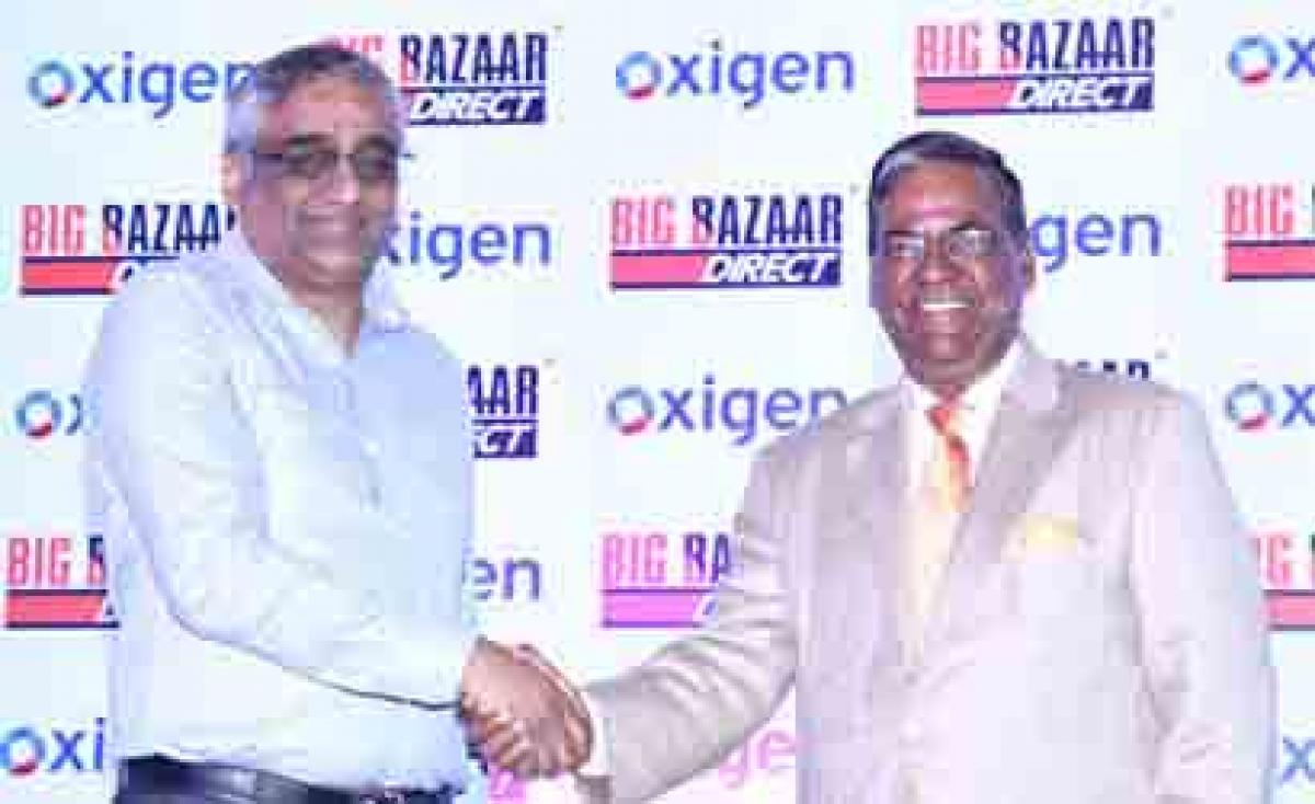 Oxigen Services partners with Big Bazaar Direct to Expand Assisted e-commerce across India