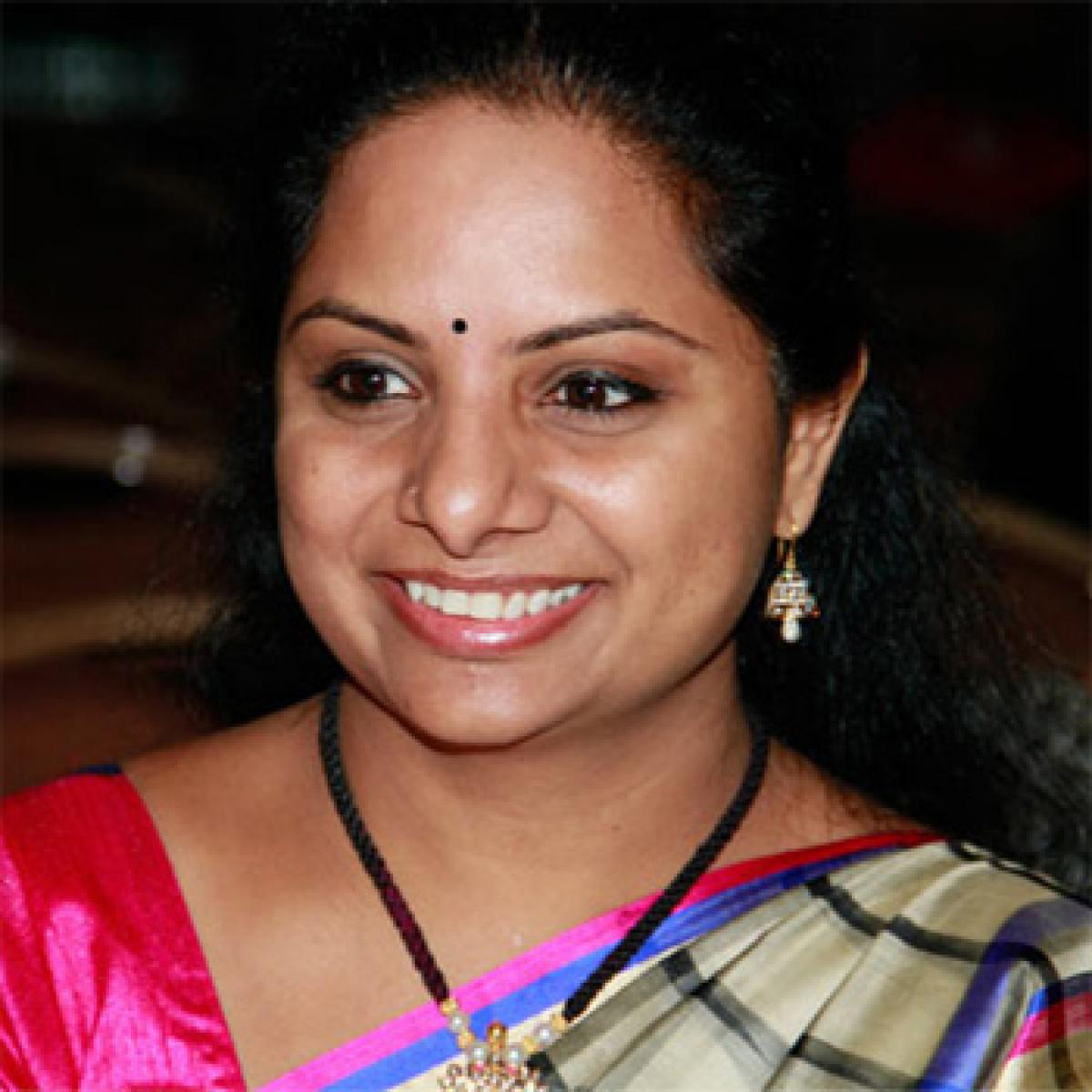 Victory proves people's support to TRS: Kavitha