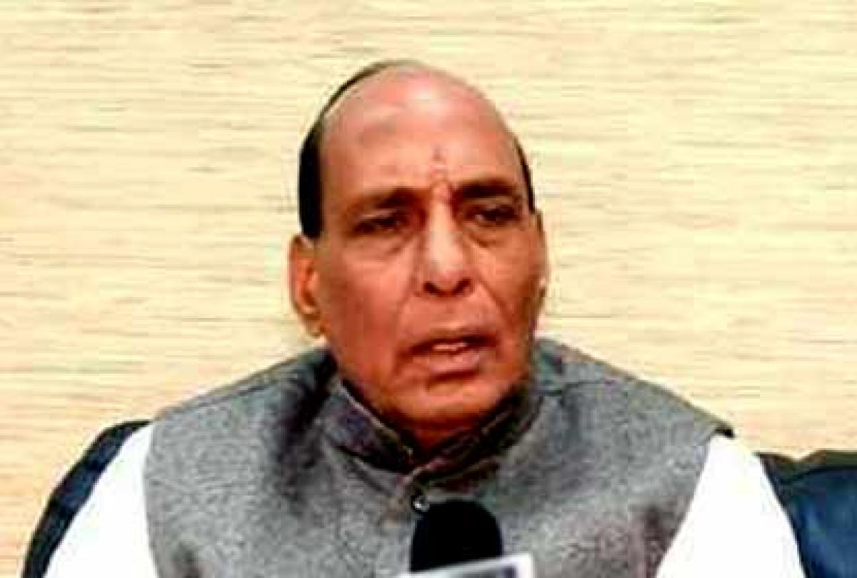 RajnathPathankot attack: Want peace with Pak but wont show mercy if attacked, says Rajnath