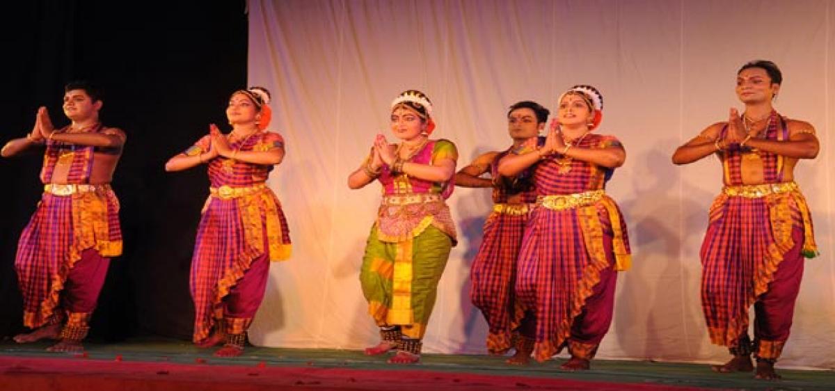 Potraying culture through dance