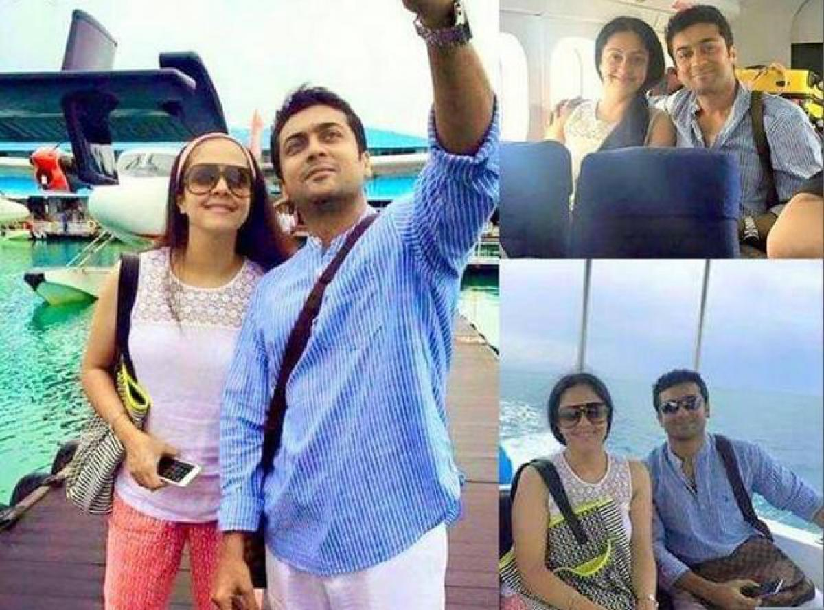 Suriya-Jyothika holidaying with kids in US