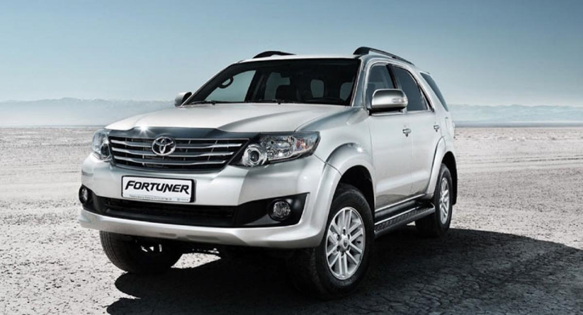 New Toyota Fortuner India launch in 2017
