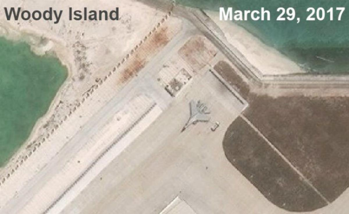 China Fighter Plane Spotted On South China Sea Island: Think Tank