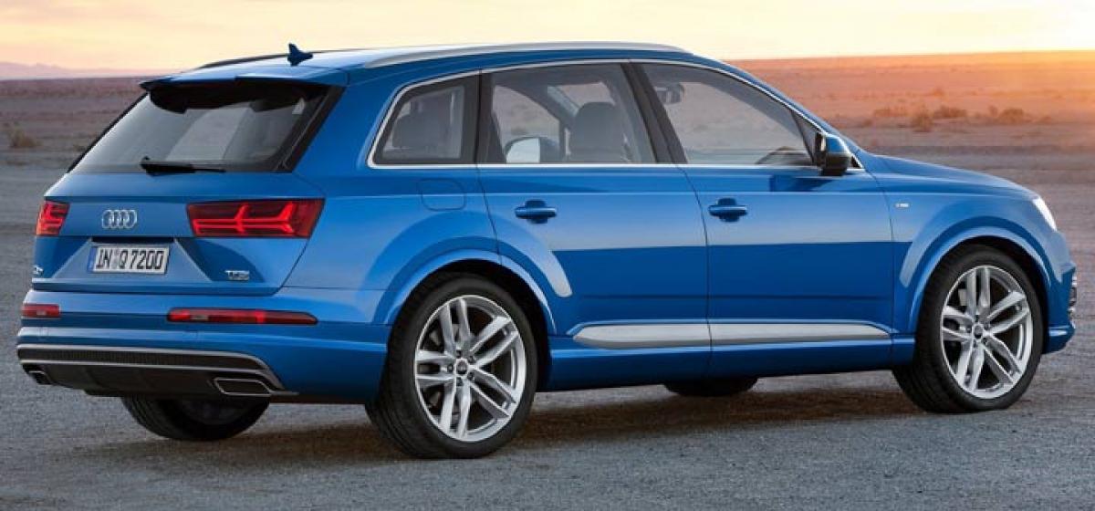 Audi Q7 launched