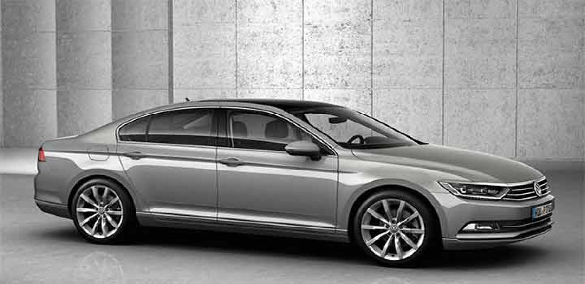 2016 Volkswagen Passat revealed