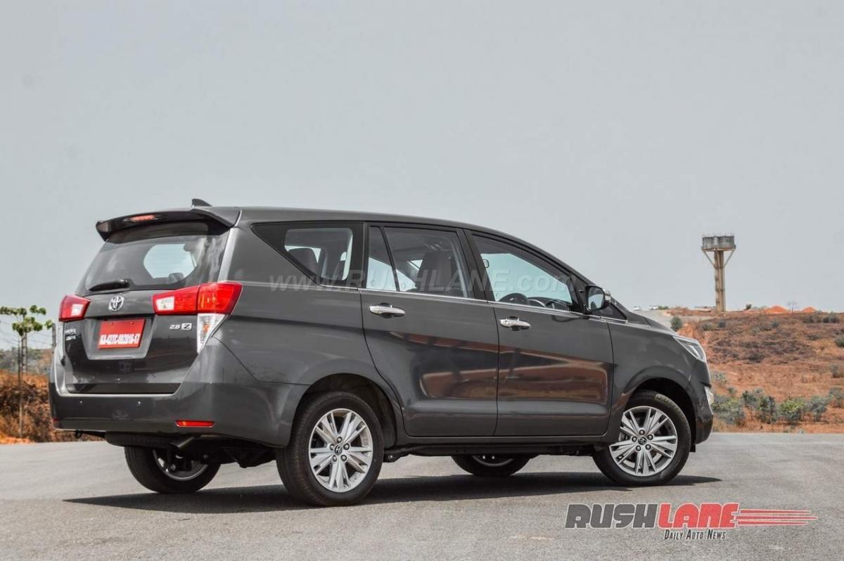 Now, buy petrol variant of Toyota Innova Crysta