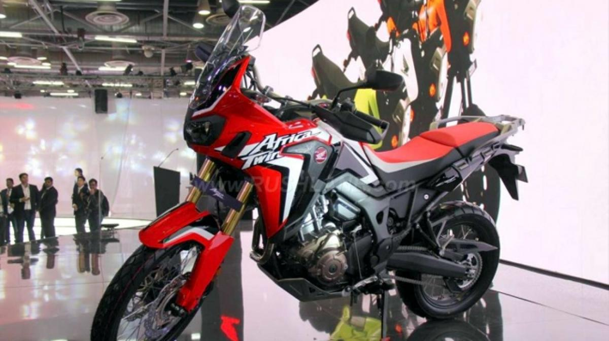 Honda Africa Twin CRF1000L CKD: Auto Expo 2016