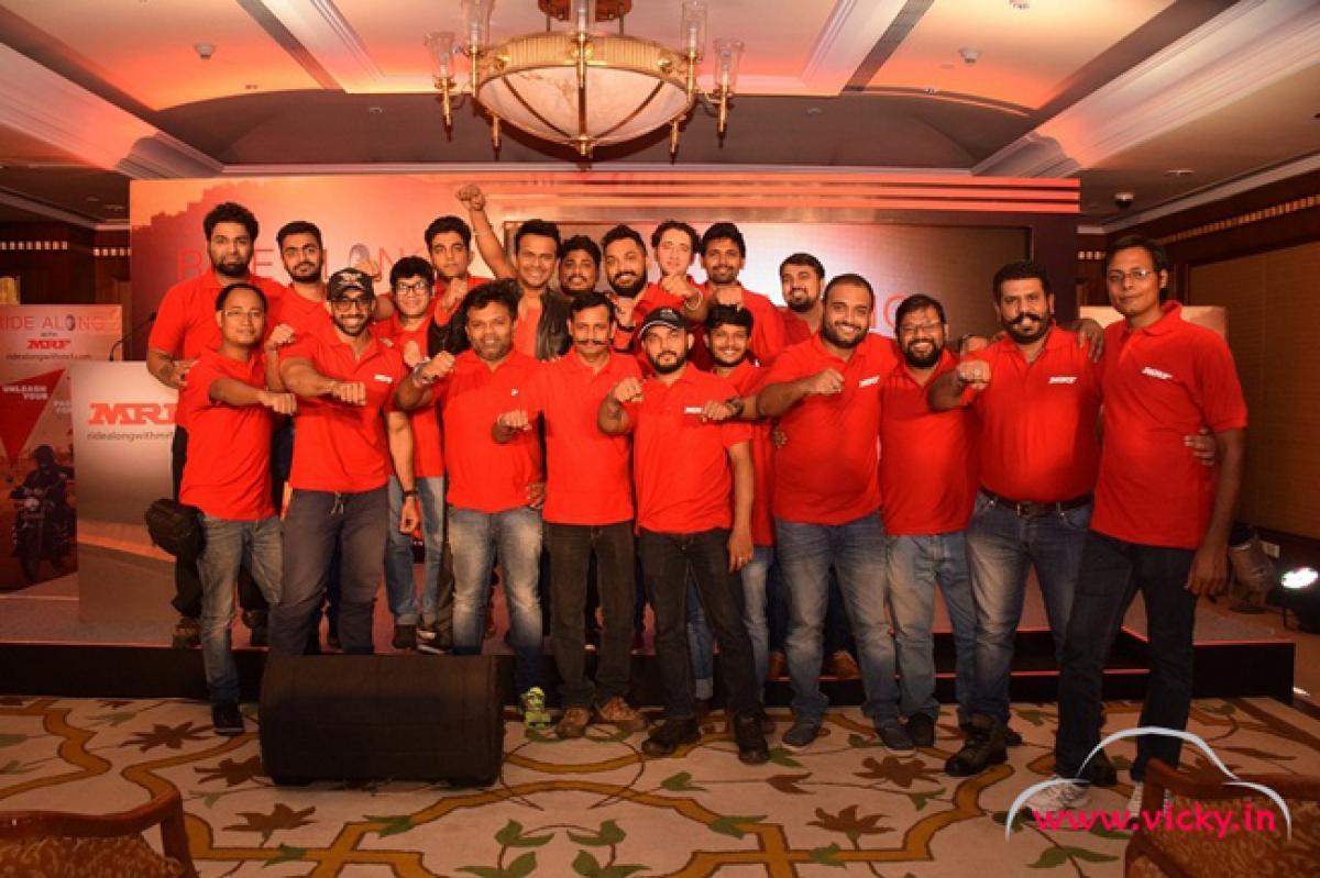 MRF Tyres Launches Ride Along with MRF - new Biking Community