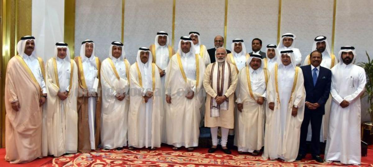 The whole world is curious about India: PM Modi in Qatar