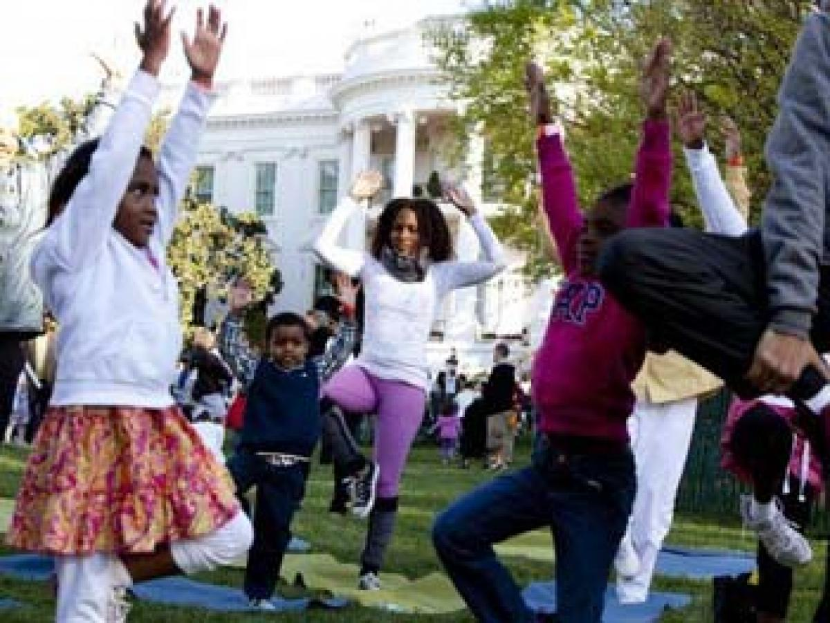 "Hindus welcome ""Yoga Garden"" in White House Easter Egg Roll event"