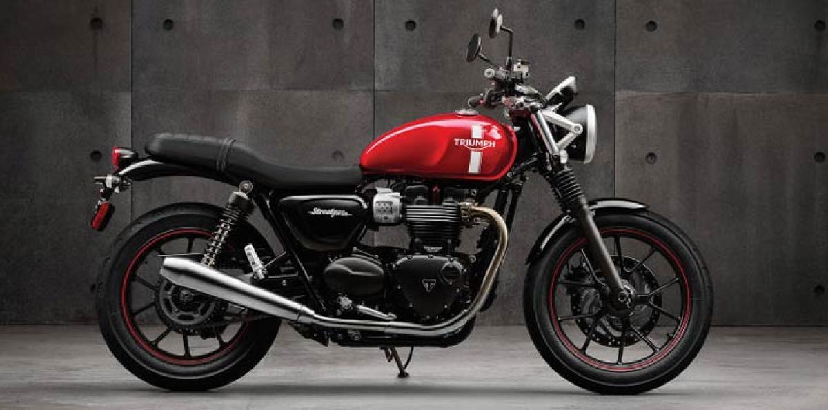 Triumph unveils custom Street Twin