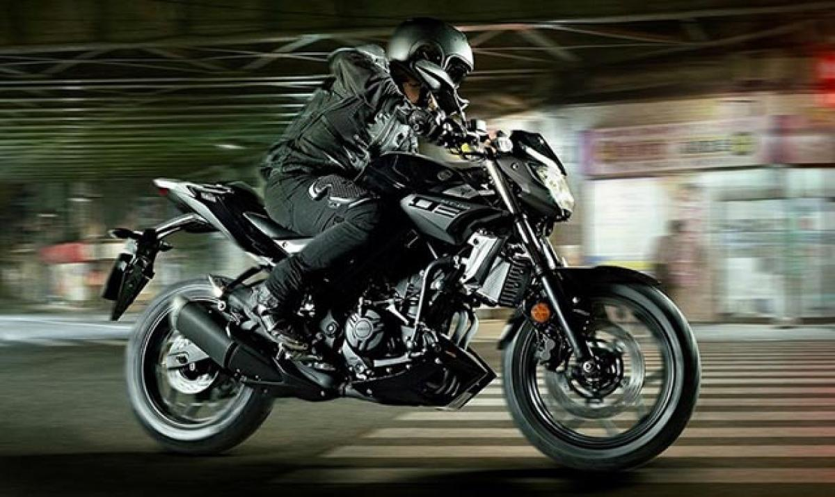 Yamaha MT-03 India launch by November