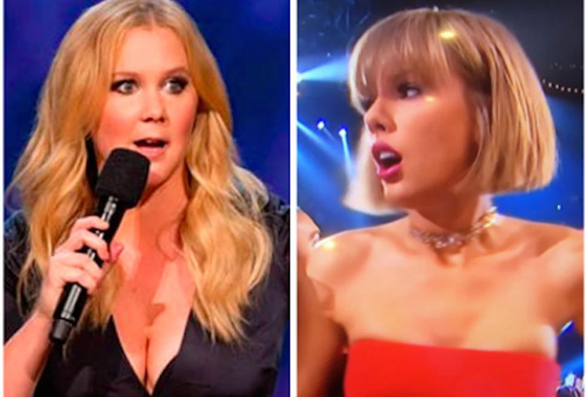 Amy Schumer 'sort of' apologises to Taylor Swift