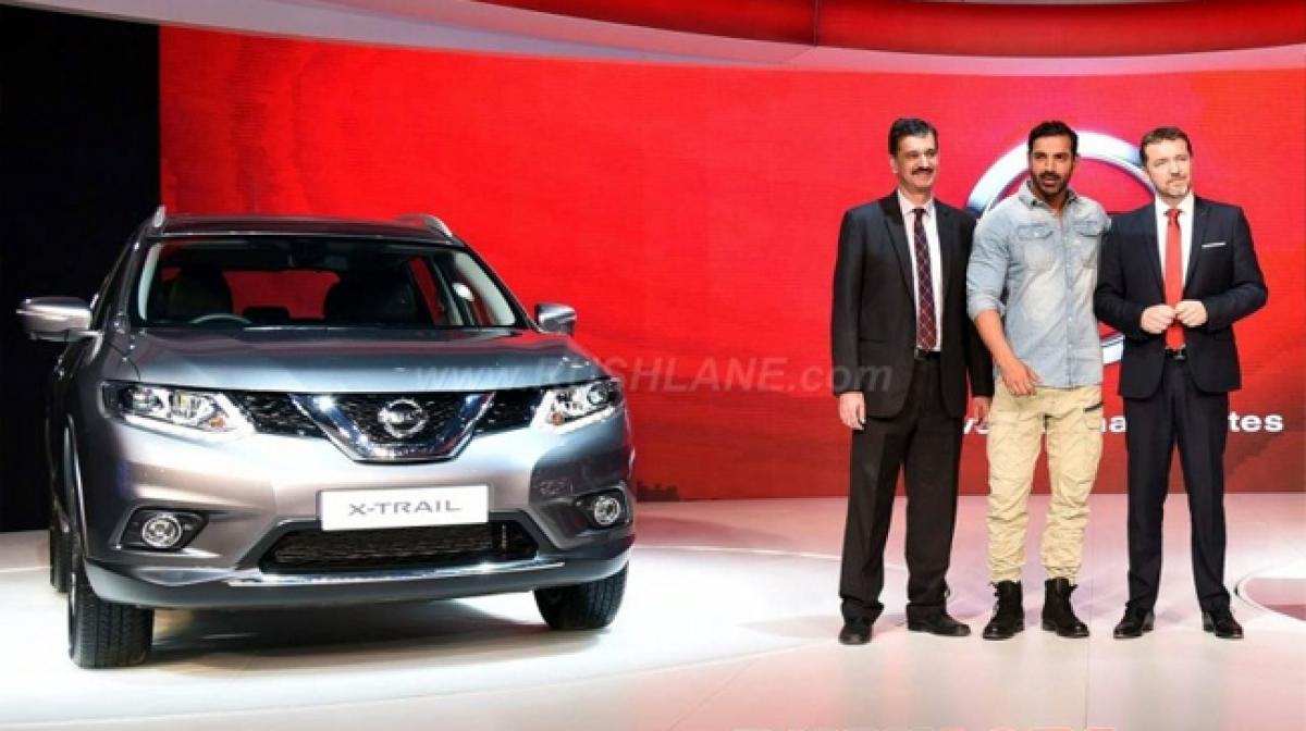 Watch: John Abraham promotes Nissan GT-R, X-Trail at Auto Expo 2016