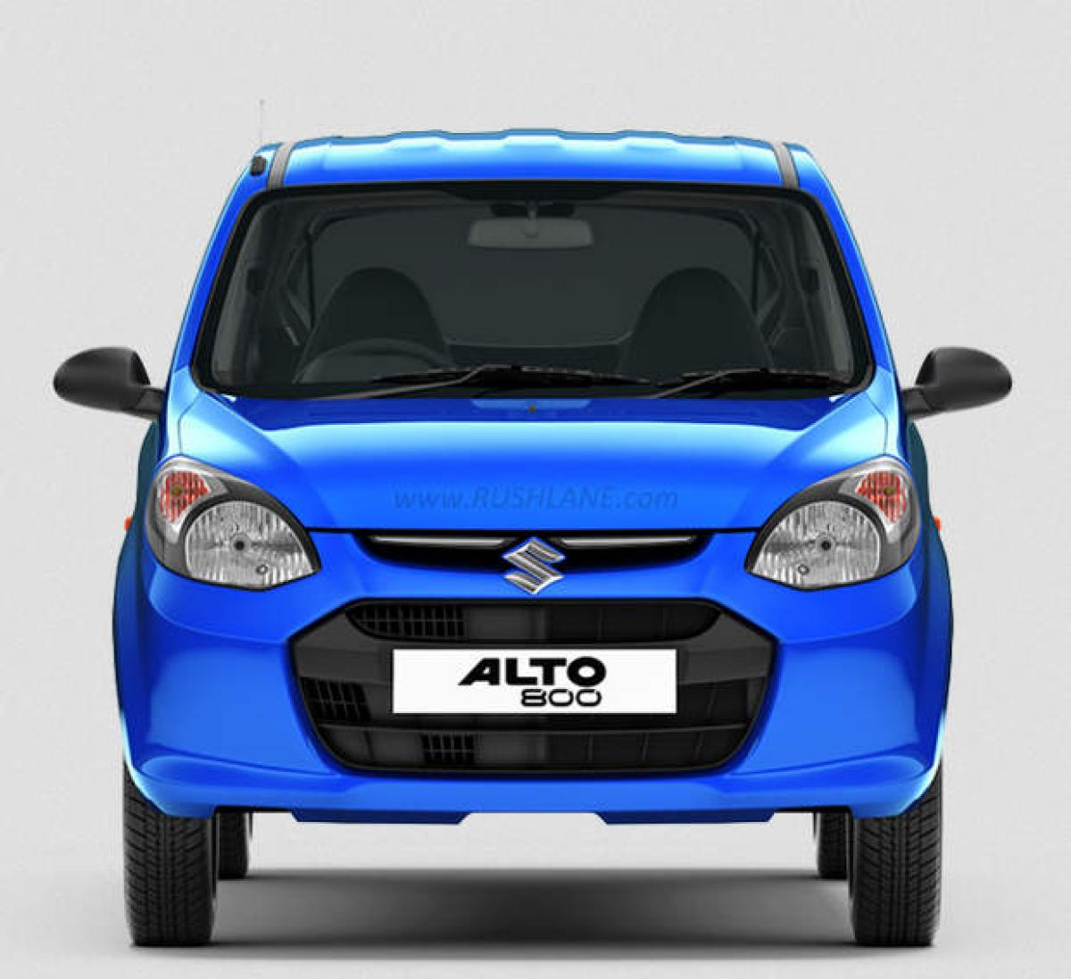 Spotted: 2016 Maruti Alto 800 facelift specifications, price in India