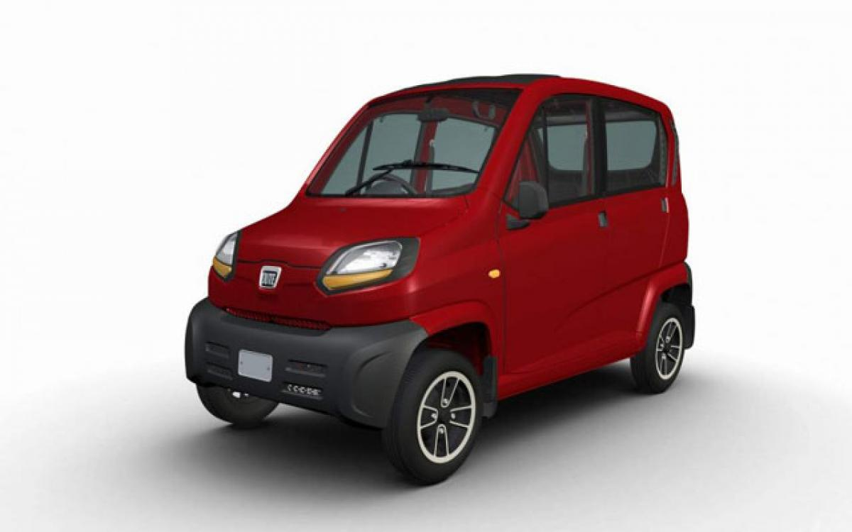 Bajaj auto highlights safety features of Qute quadricyle in India
