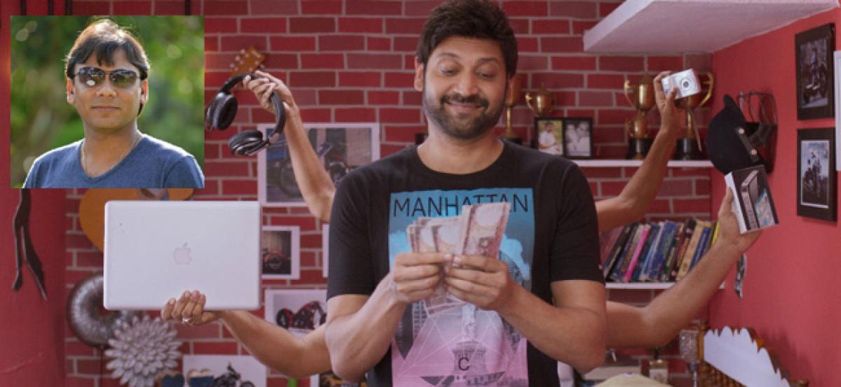 Producer Sudheer Pudota has big plans