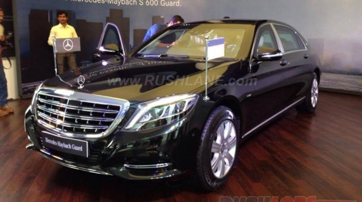 Check out: Mercedes Maybach S600 price in India