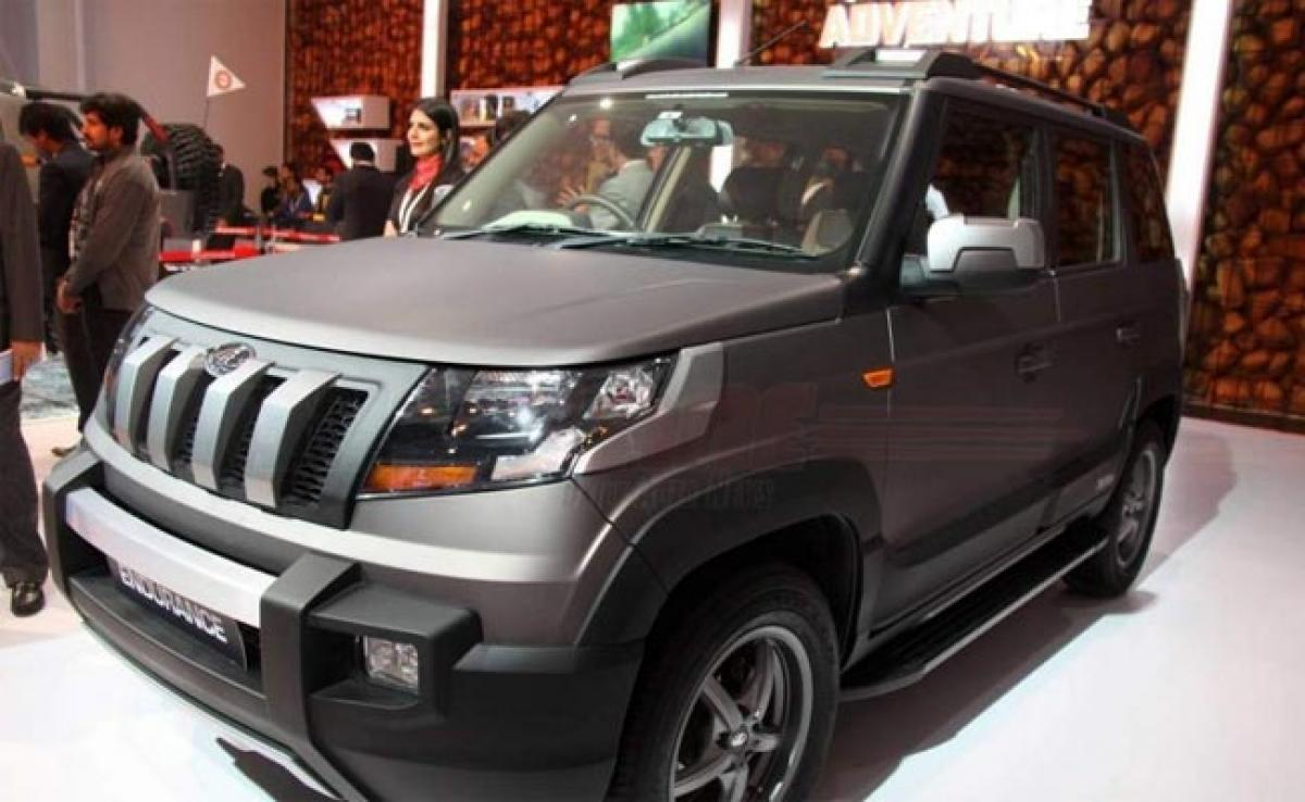 Mahindra TUV300 Endurance Edition features price in India