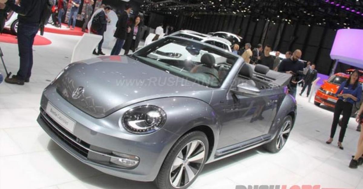 Check out: Volkswagen Beetle Convertible, Budd E concept features Geneva Motor Show 2016