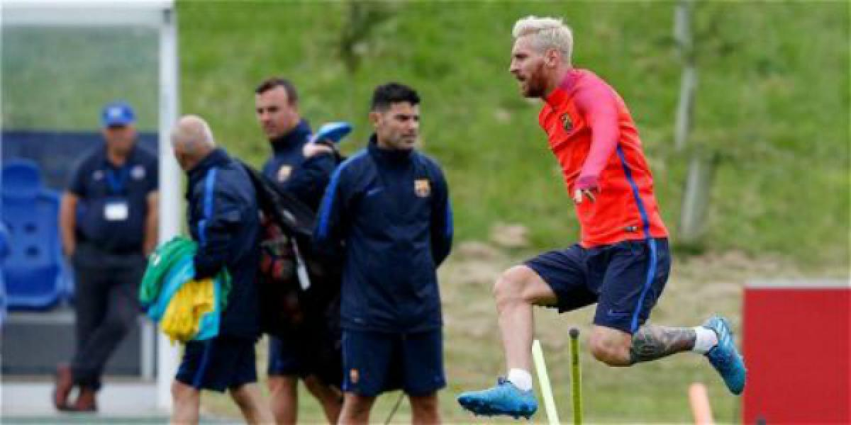 Messi and Umtiti working hard to be fit for their forthcoming games