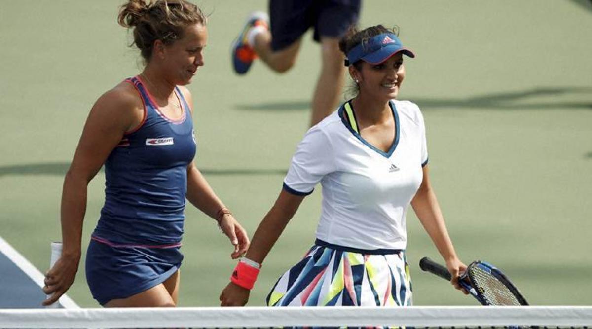 Sania Mirza sails into US Open quarterfinals