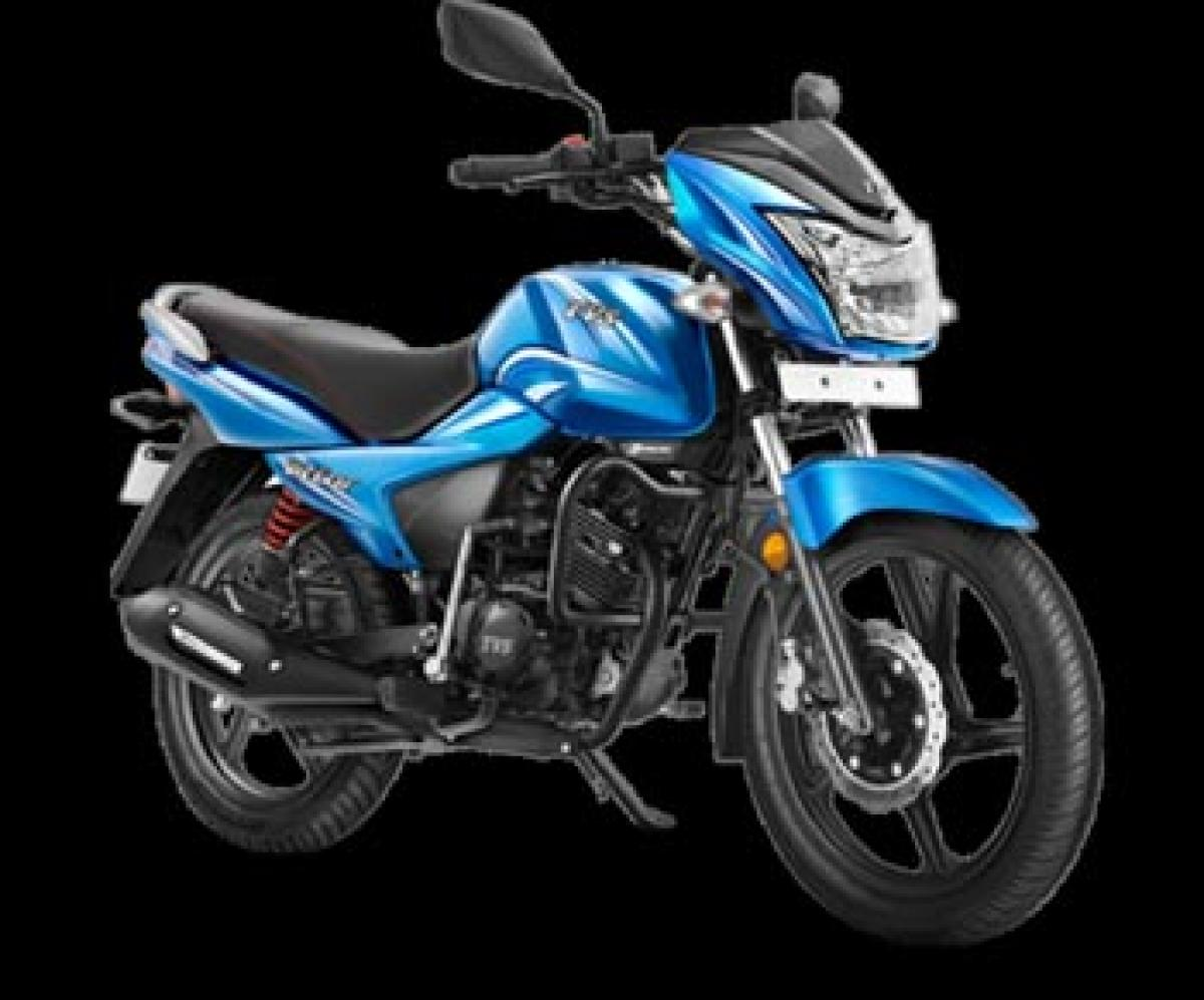 2016 TVS Victor launched in India