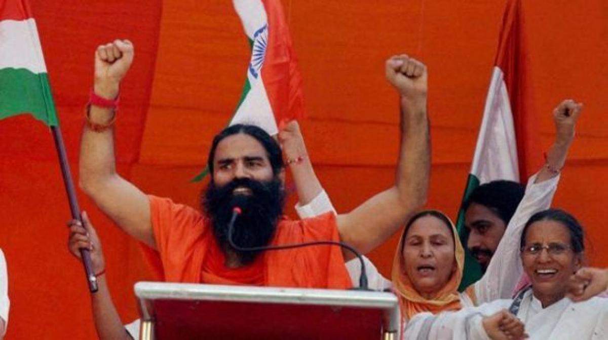 Narendra Modi, Jaitley victims of political intolerance: Ramdev