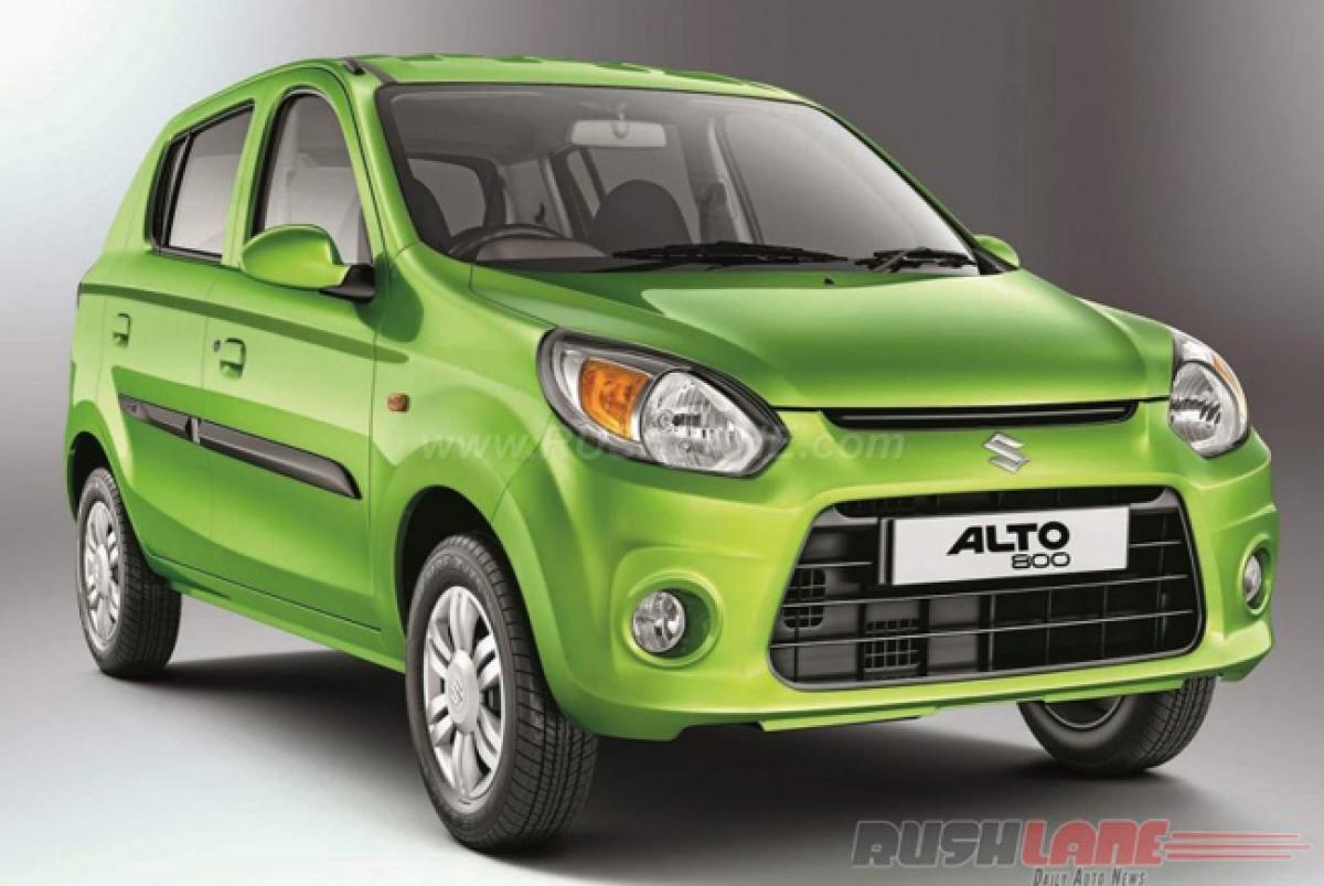Diesel ban may up Maruti Alto 800 sales in India