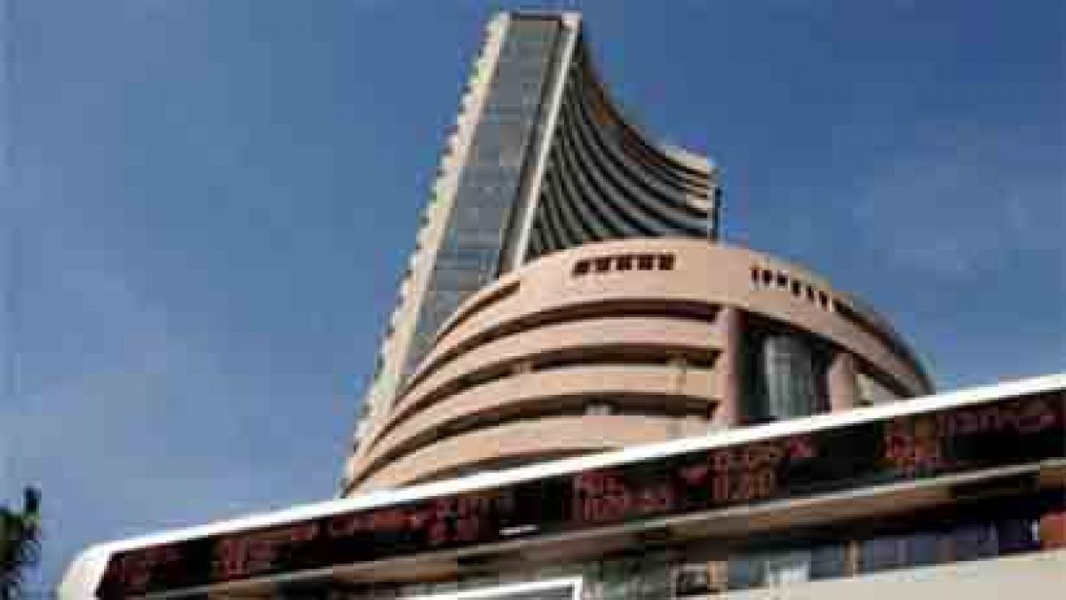 Profit bookings subdue markets, Sensex trades flat