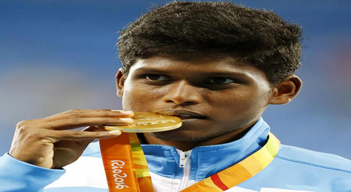 Thangavelu wins gold at Paralympics