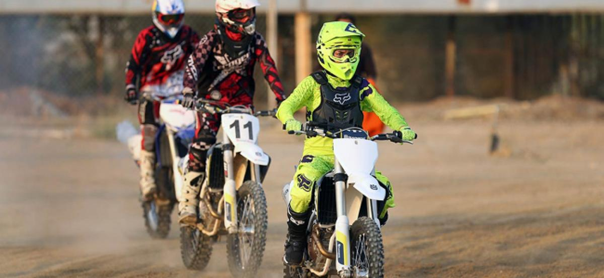 Iranian women allowed to take part in motocross races