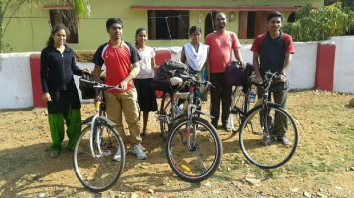 Chandigarh: 3 youths on bicycle rally for peace abducted by Naxals
