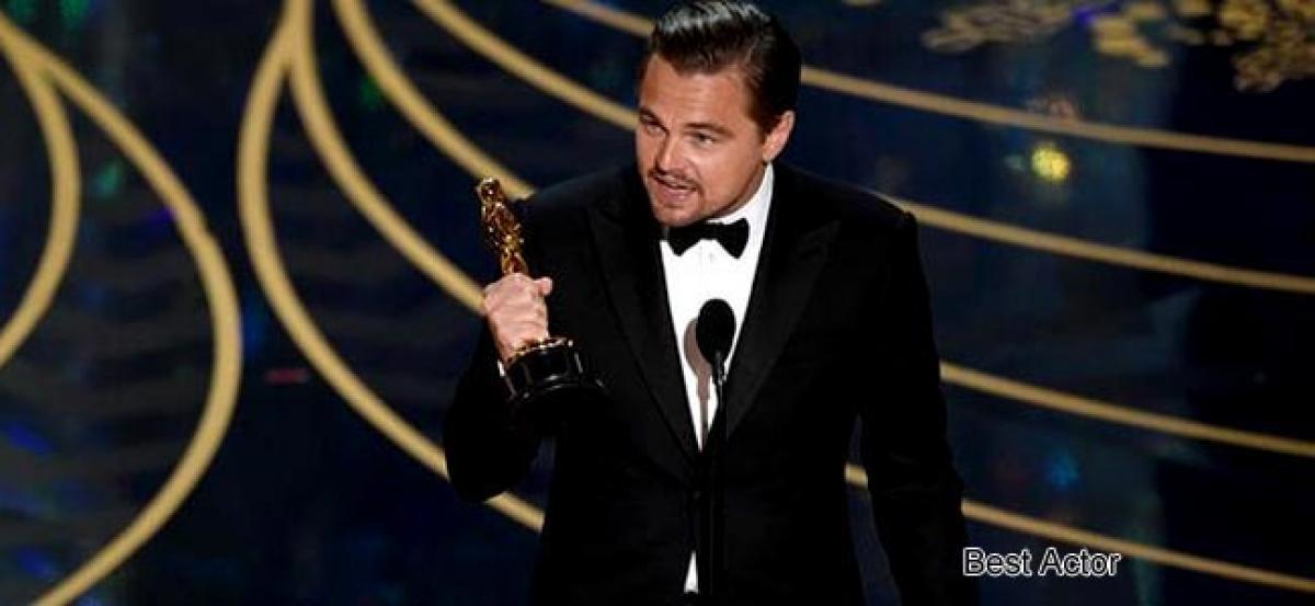 Leonardo DiCaprio breaks jinx, takes home first Academy Award for The Revenant