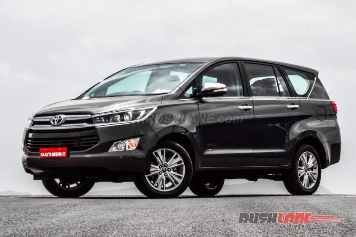 What is the price of Toyota Innova Crysta in India?