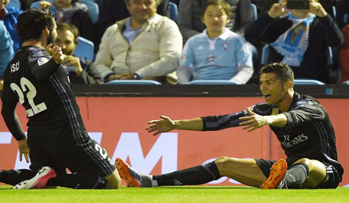 CR7 inspires Real win